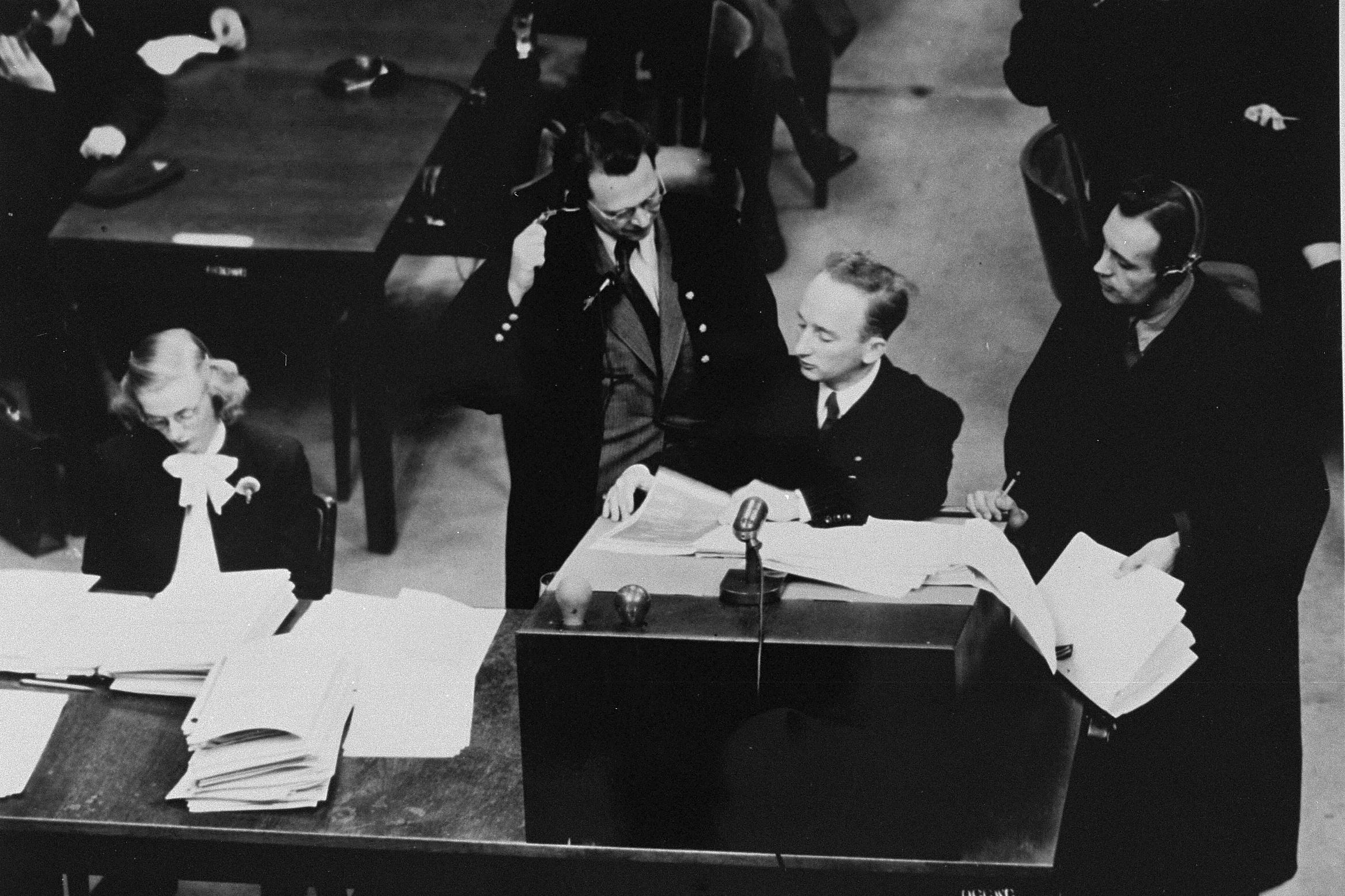 the nuremberg trials as a pattern for international enforcement of justice The best-known part of the three sets of trials is the trial of major war criminals before the international military tribunal at nuremberg (imt) during these trials, twenty-four prominent political and military leaders of the nazi germany were brought before the international military tribunal.