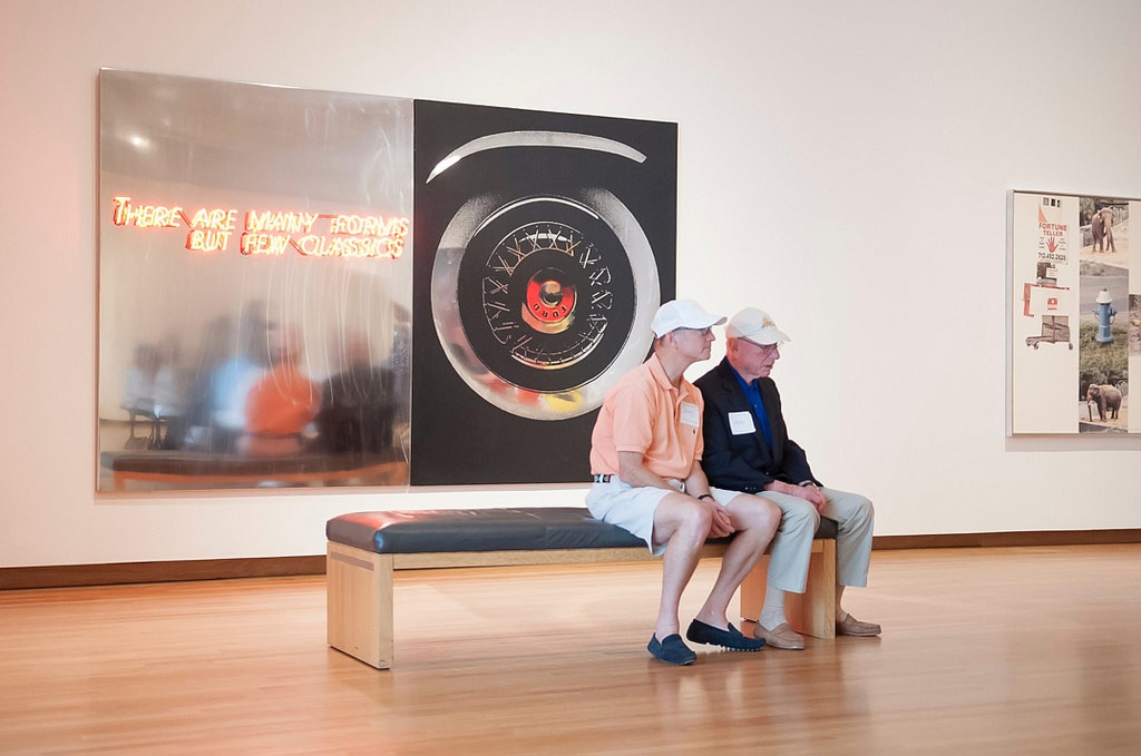 Reflections: The Nasher Museum Alzheimer's Program provides engaging and interactive museum tours to visitors with Alzheimer's disease and related dementia, their families, and their care partners.