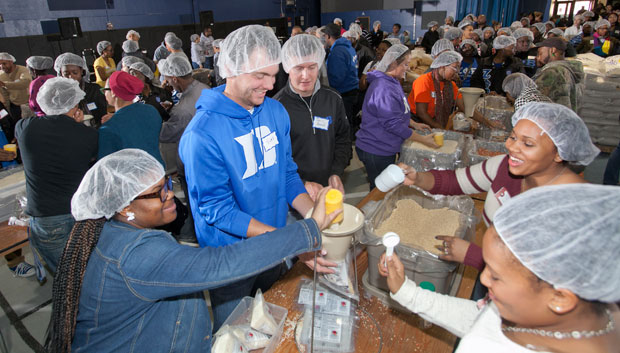 Million Meals for Duke, NCCU