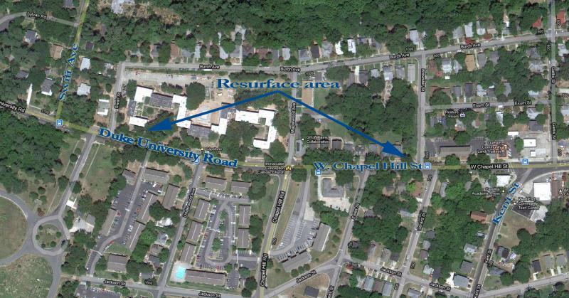Bike Lanes Added Near West Campus Duke Today - Duke west campus map