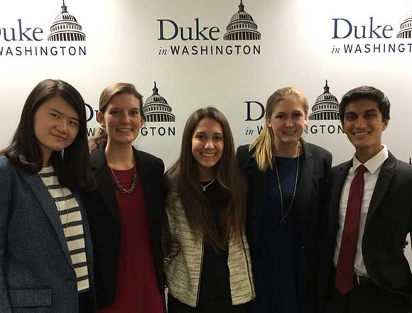 Duke Students in DC