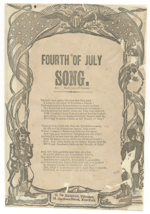 Fourth of July Song