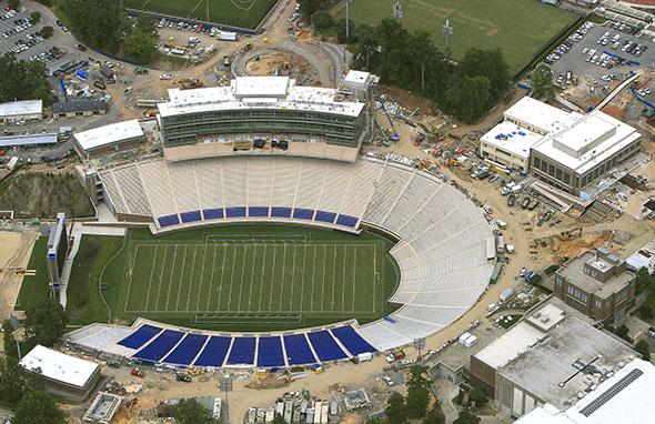 Stadium Renovations Enhance Football Experience Duke Today