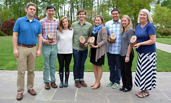 Sustainable Duke presented their annual Sustainability Awards April 15 to students, faculty and staff, recognizing a variety of efforts to promote