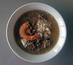 Ashley Rose Young took this photo of her prepared gumbo recipe.