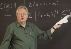 Mathematician Richard Durrett, an expert on probability, joined Duke in July.