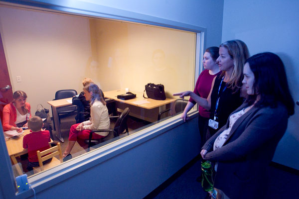 Duke's pediatric psychology lab