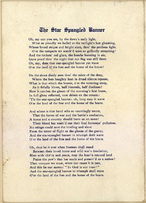 Star-Spangled Banner Poem
