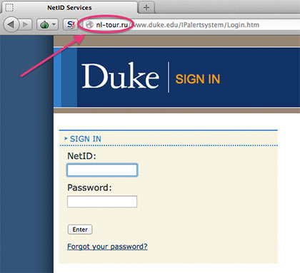 Employees' Direct Deposit Rerouted After Phishing Attack   Duke Today