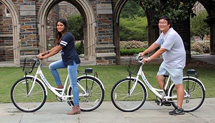 Bike-share Program Comes to Duke | Duke Today