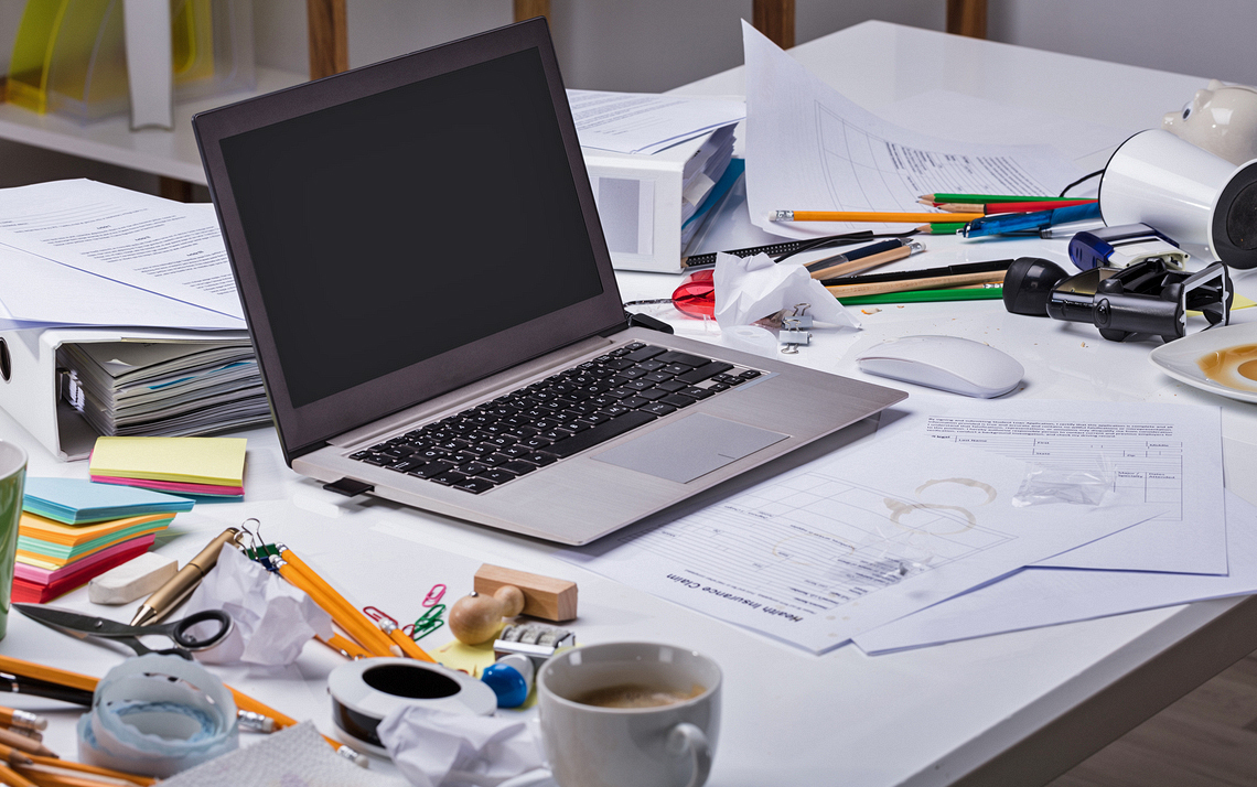 How To Declutter Your Desk Duke Today