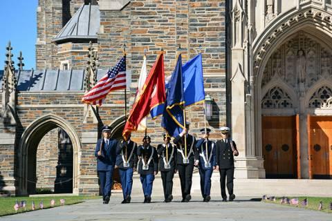 ROTC at Veterans' Day