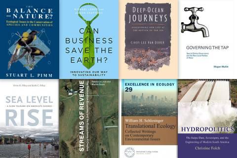 Eight Duke-Authored Books on the Environment