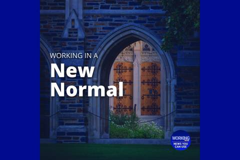 Working in a New Normal