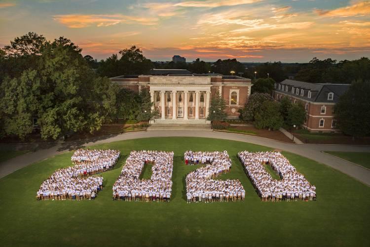 Class of 2020 class photo