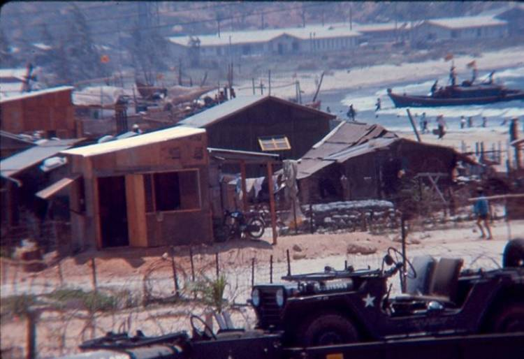 Dr. Marvin Rozear photograph of the hospital during the Vietnam War