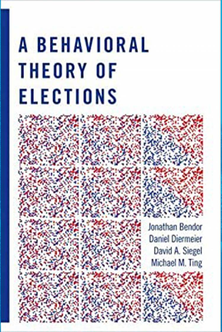 A Behavioral Theory of Elections book cover