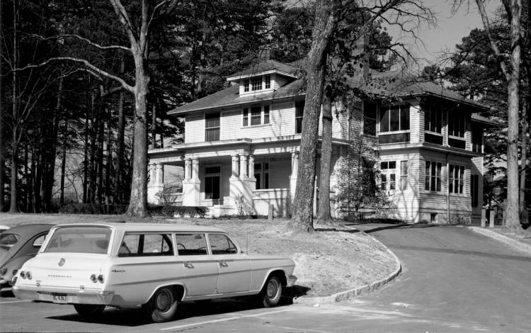 Bishop's House in the 1960s. Photo courtesy of Duke University Archives.