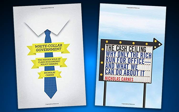 Nick Carnes has published two books on why working-class people don't run for office.