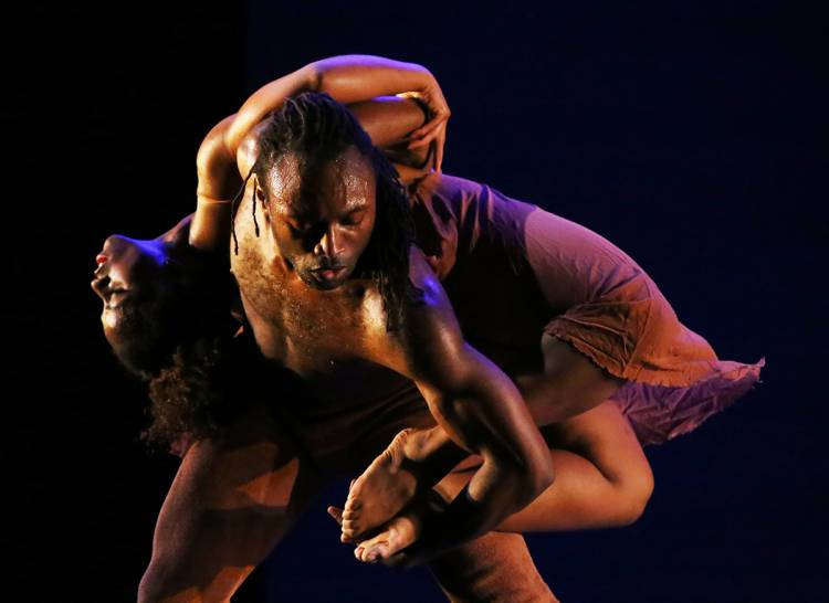 The Dayton Contemporary Dance Company opens the ADF season Thursday featuring works by African-American choreographers.