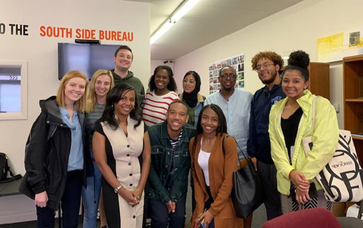 Students and organizers with the DukeEngage project in Chicago have been spending the summer working with under-resourced communities. Photo courtesy of Kisha Daniels.