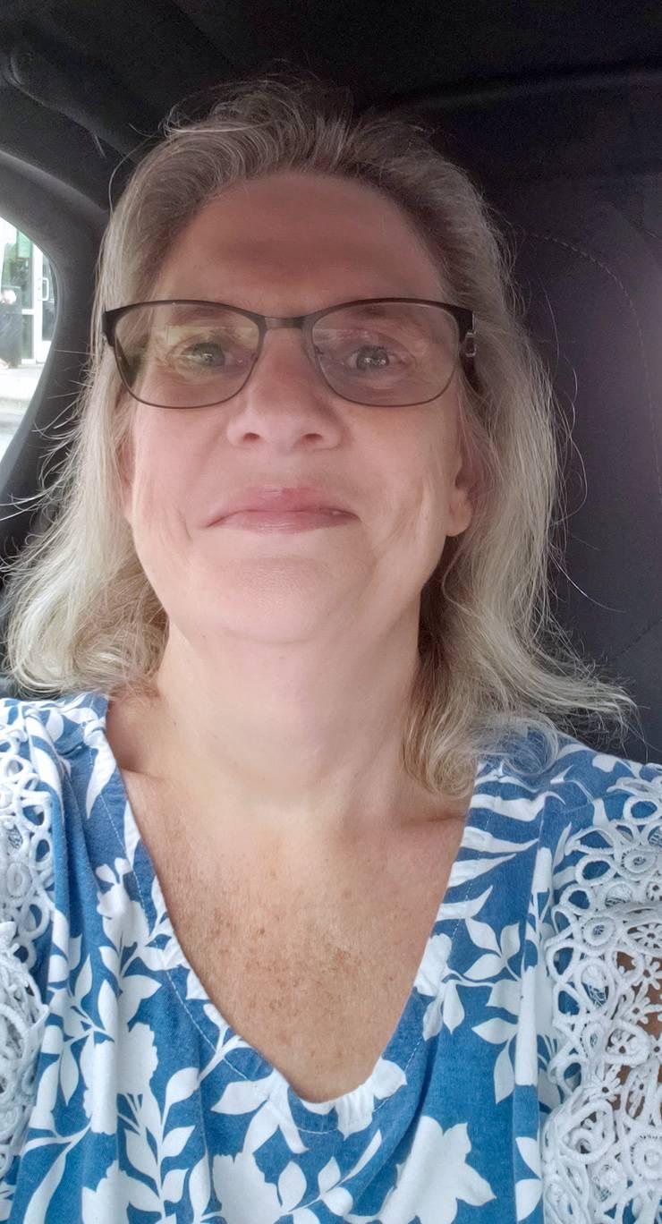 Diane Satterfield, manager of the Preston Robert Tisch Brain Tumor Center's biorepository.