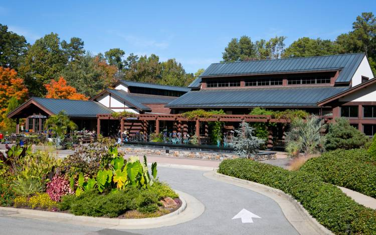 Doris Duke Center at Duke Gardens.