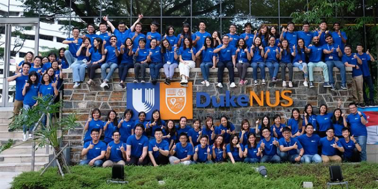Greetings from the new students at Duke NUS