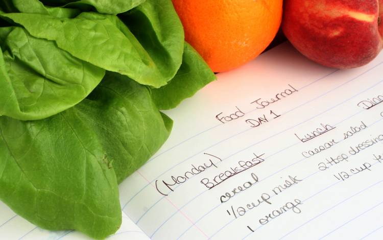 Keep a food journal to track how you feel after eating each meal.
