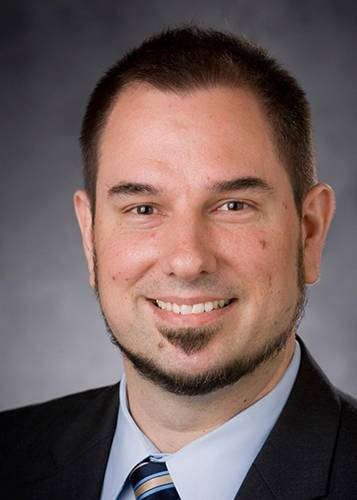 Christopher Freel will be associate vice president for research