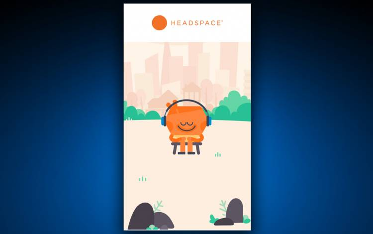 Headspace is one of many apps that assists with meditation. Photo courtesy of Headspace.