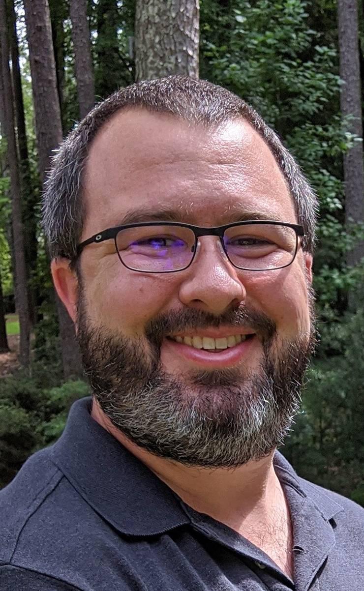 James King, service desk analyst for Duke Health Technology Solutions.