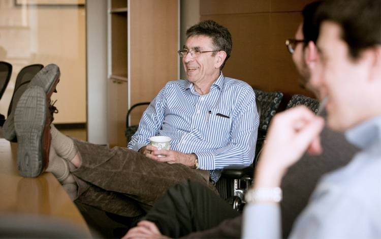 Robert Lefkowitz's work on protein receptors paved the way for a wide array of breakthrough medicines. Photo courtesy of University Communications.