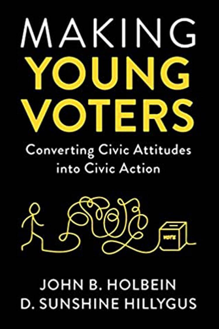 Making Young Voters book cover