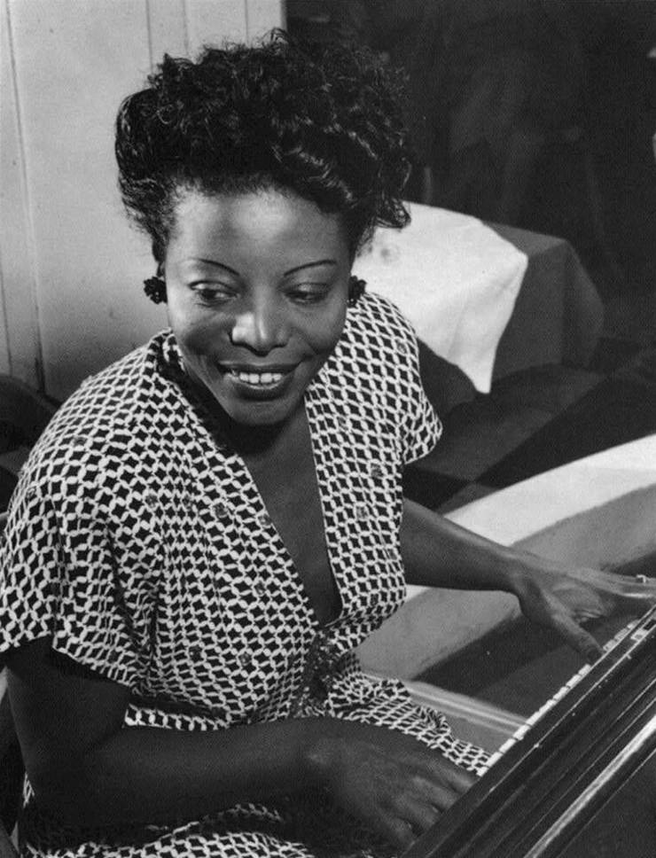 Mary Lou Williams, Duke's Artist in Residence from 1977-81, was an influential jazz composer and pianist. Photo courtesy of Library of Congress.