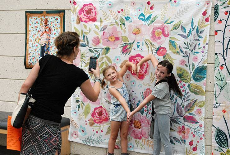 Free Family Days at the Nasher Museum of Art have become one of Duke's most popular family events.