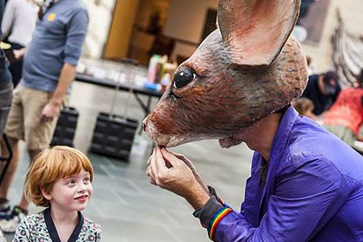 The Nasher Museum of Art will host a free family day later this month.
