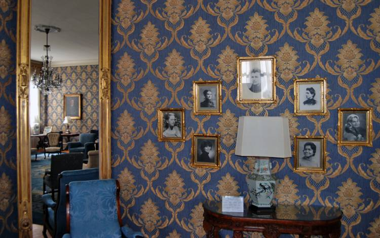 Portraits in the Blue Parlor celebrate some of Duke's trailblazing women.