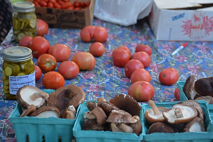 The Duke Farmers' Market featured fresh, local produce and several events highlighting health and wellness.