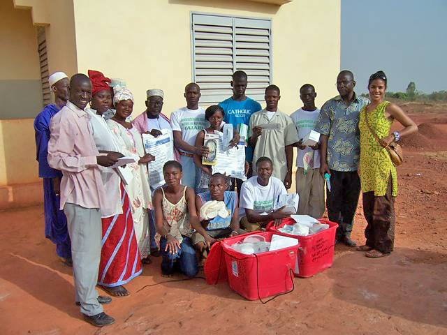 Supplies from REMEDY at Duke helped this clinic in Banankoro, Mali.