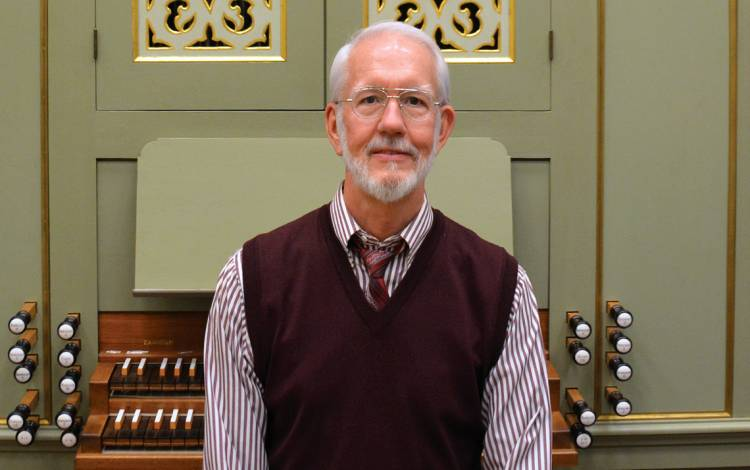 Robert Parkins is the Duke University organist.