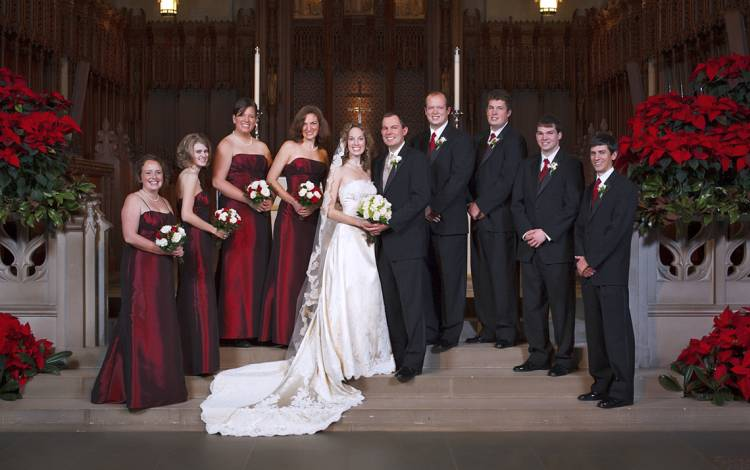 Blanche Williams has been to hundreds of weddings at Duke University Chapel, but her favorite was the 2010 wedding of her daughter, Catherine.
