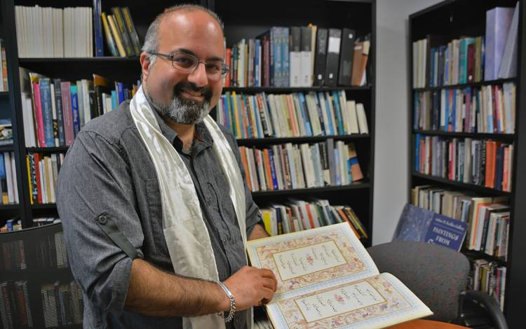 Omid Safi, professor in the Department of Asian and Middle Eastern Studies.