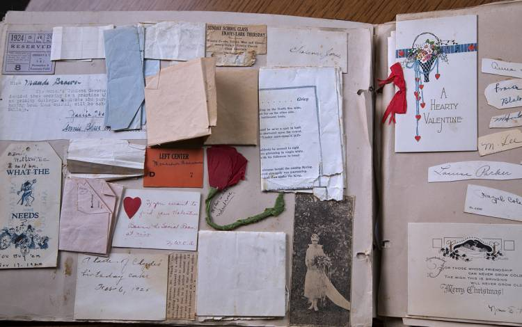 Student scrapbooks in the Duke University Archives provide a glimpse into student life from decades ago.