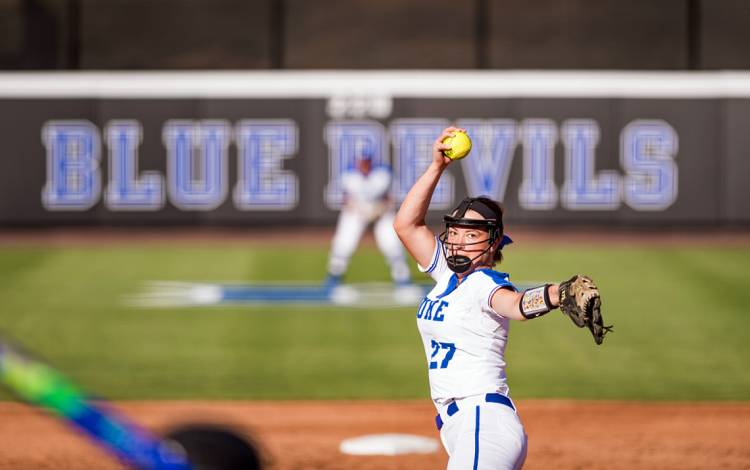 The Duke softball team will take on two Big Ten teams in four games at its East Campus stadium