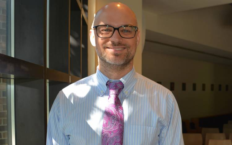 Jesse Summers, an academic dean in Arts and Sciences.