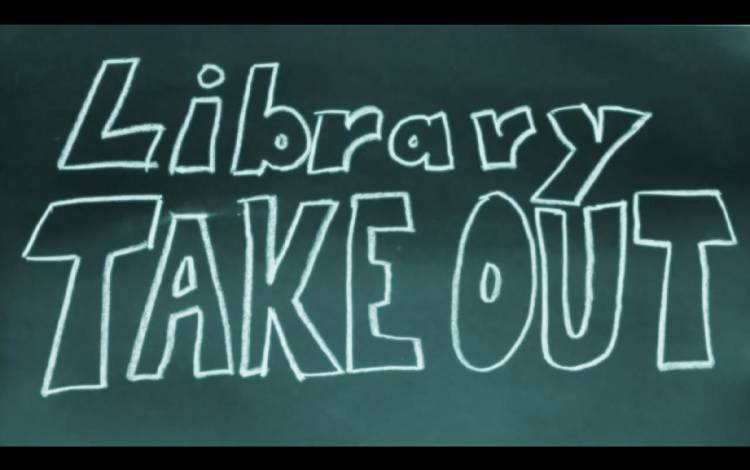 Library Takeout Title Screen