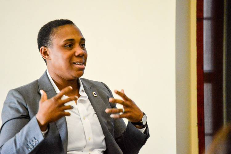 Durham City Council member Vernetta Alston described her experience running for office.