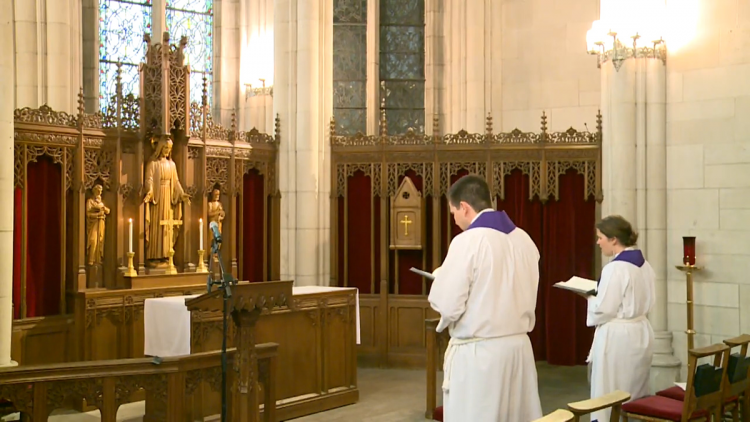 From the virtual Duke Chapel service