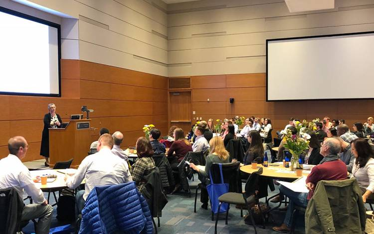 About 700 people attended the 2019 Duke Health Quality and Safety Conference.